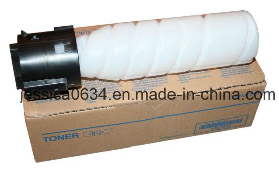 Compatible Konica Minolta Bizhub 164/184/7718 Tn116 Tn117 Toner Cartridges