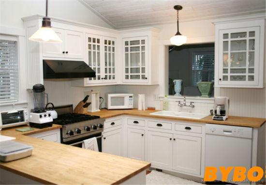 Classical European PVC Kitchen Cabinet