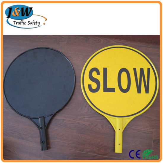 Australia Traffic Sign Slow Stop Bat for Traffic Control pictures & photos