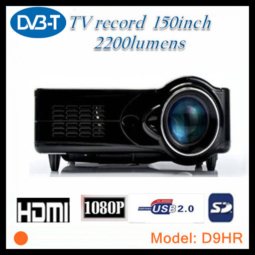 HDMI 1080p Projector DVB-T Digital TV Tuner (D9HR) pictures & photos