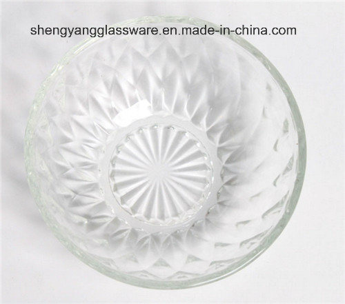 Emboss Spray Glass Bowl / Decorative Bowl/Salad Bowl pictures & photos