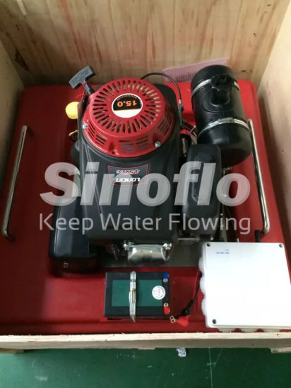 15HP Portable Gasoline Engine Floating Fire Pump pictures & photos