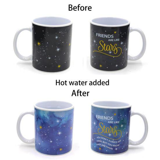 China Custom Design Magic Mug Printing