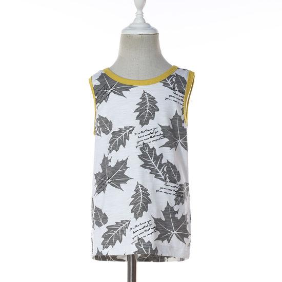 Sleeveless Cotton Boy Cool T-Shirt for Summer
