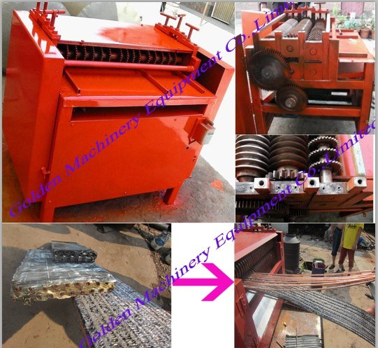 Scrap Air Conditioner Copper and Aluminum Radiator Crusher and Separator pictures & photos