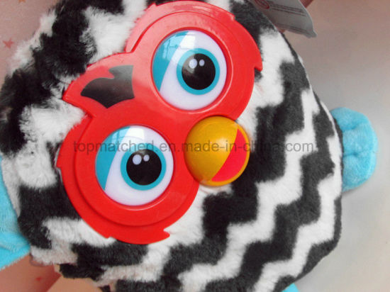 Furby Boom Figure Stuffed Animal Doll Plush Toy (Straight Stripes) pictures & photos