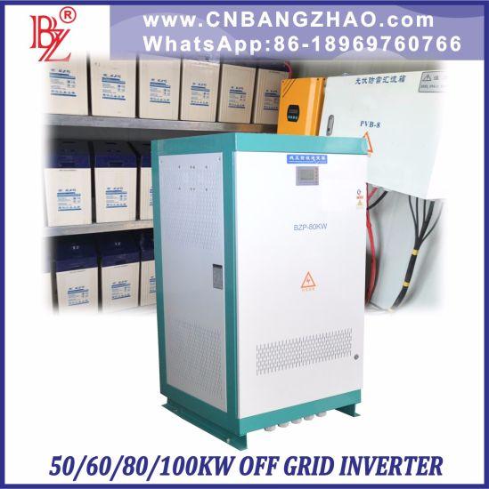 50kw off Grid Single Phase Inverter-Motor Invertor-3 Phase Motor Inverter