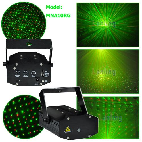 Rg Mini Laser Light DJ Lighting
