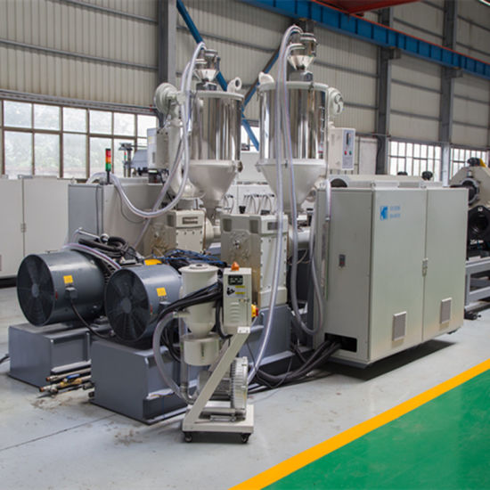 HDPE/PE Plastic Single/Double Wall Corrugated Pipe/Tube Extrusion Making Extruder Machine