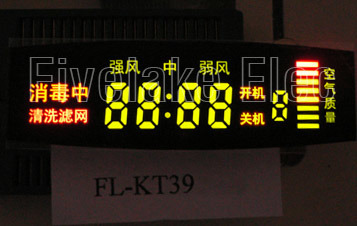 Custom Colorful Digital LED Panel Display for Air Purifier (KT39) pictures & photos