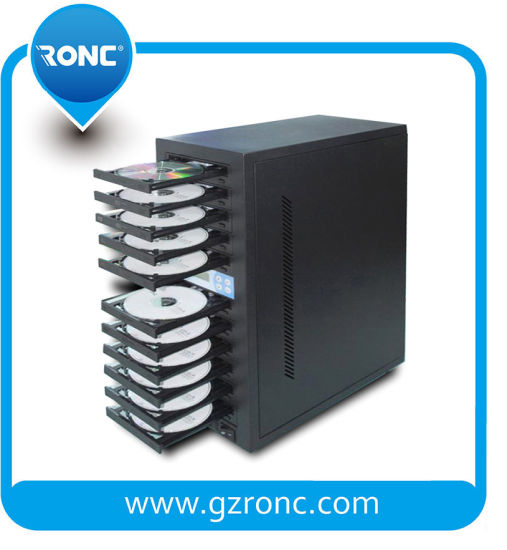 Stable High-Speed CD DVD Duplicator for Burning Music Video pictures & photos