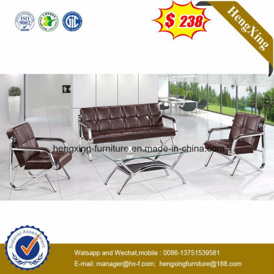 Modern Simple Leisure Office Leather Sofa (HX-CS101) pictures & photos