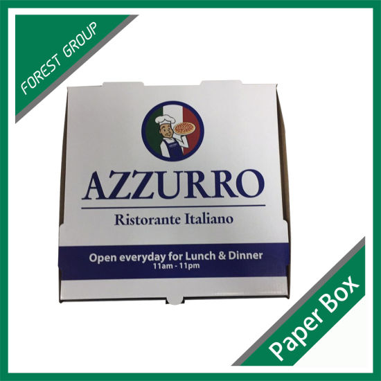 Wholesale Custom Design Corrugated Pizza Box in Cheap Price pictures & photos
