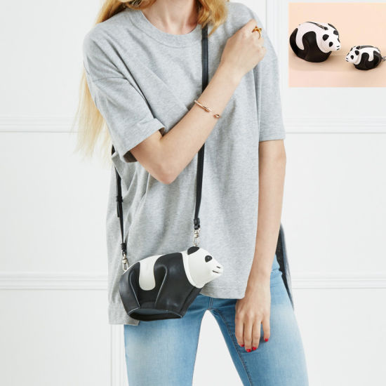 Womens Mini Panda Handbags Shoulder Hand Purse Sling Crossbody Bag pictures    photos 93ffde6afc206