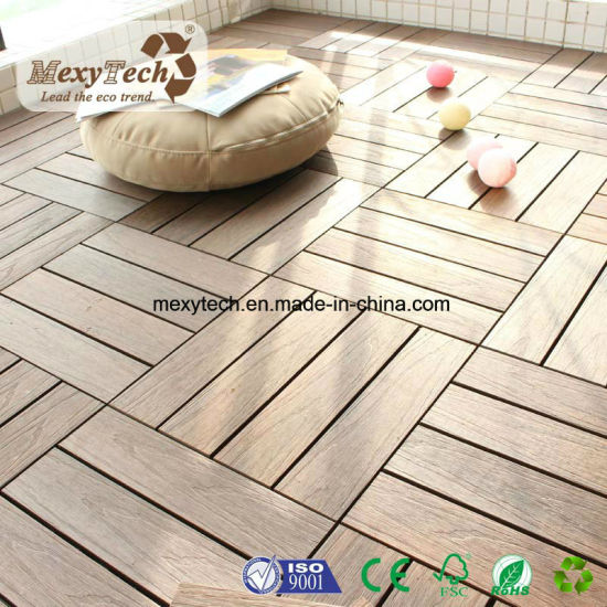 Superieur Foshan Patio WPC Interlocking 300*300mm Decking Tile