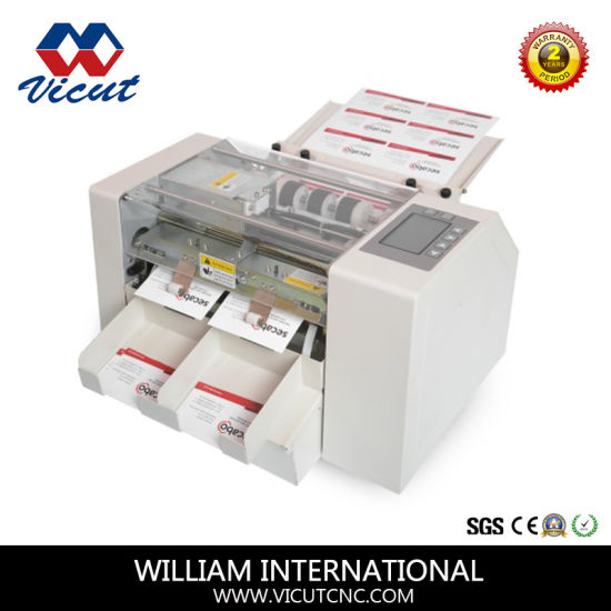 Automatic A4 Size Business Name Card Cutter Price Vct CCA4