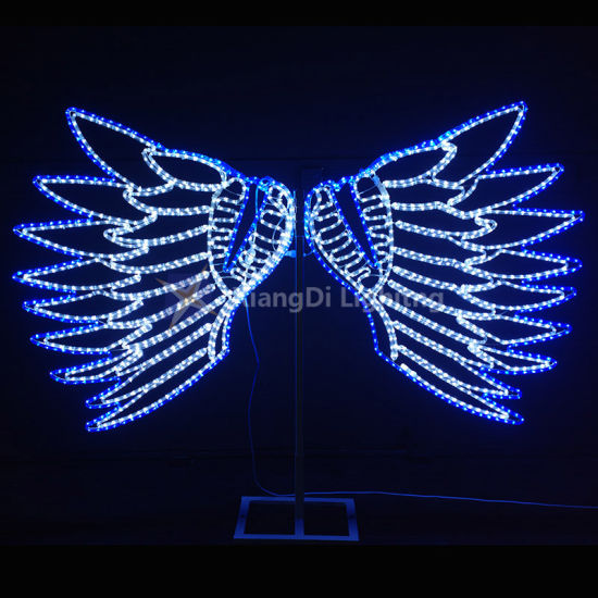 2D Christmas Decoration Cross Street Motif Light with Ce RoHS