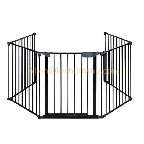 China High End Quaility Decorative Modern Cast Fence Panels Home Depot Suppliers Garden Metal Cast Parts Black Galvanized Metal Top Fencing Panel For Austrilia China Railing Cast Iron Fence