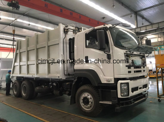 China Isuzu 6X4 Garbage Truck with 20 M3 Box pictures & photos