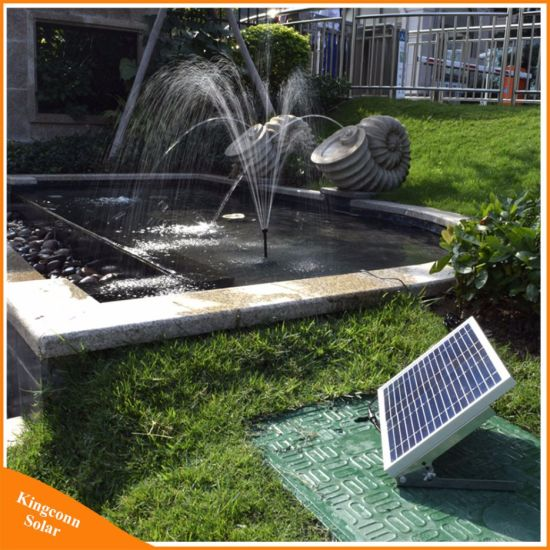 17V 10W Solar Powered Water Fountain Pump Kit For Outdoor Garden Pool Pond  Decorative
