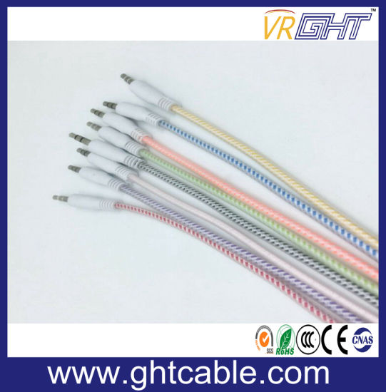 3m 3.5mm to 3.5mm Male to Male Audio Cable pictures & photos