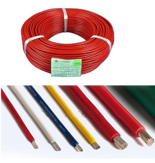 China Flexible Silicone Rubber Insulated Electric Wire - China ...