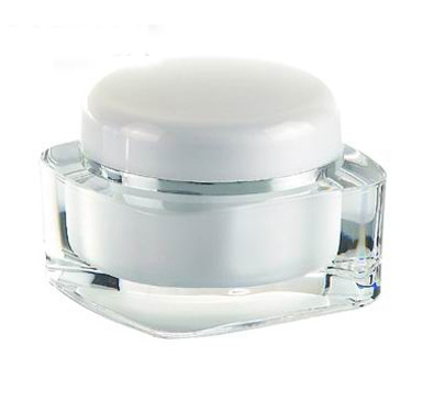 Square Shape Cosmetic Acrylic Jar for Cosmetic Packaging pictures & photos