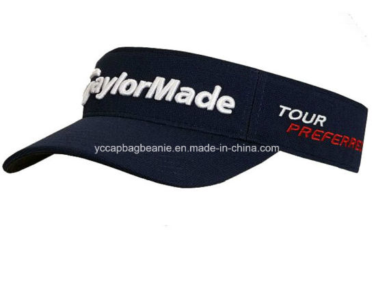 ab7a1f68d7f12e China Wholesale Sport Elastic Back Sun Visor Hat - China Sun Visor ...