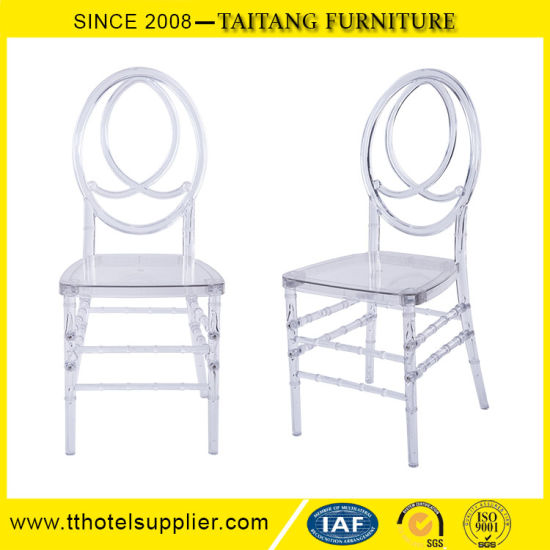 Clear Tiffany Phoenix Chair, Party Use Plastic Transparent Clear Chair,  Crystal Chair