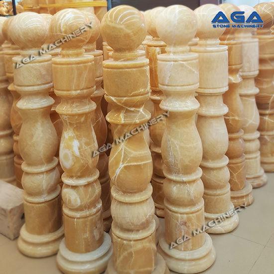 China Stone Balustrade Cutter for Granite/Marble Pillar