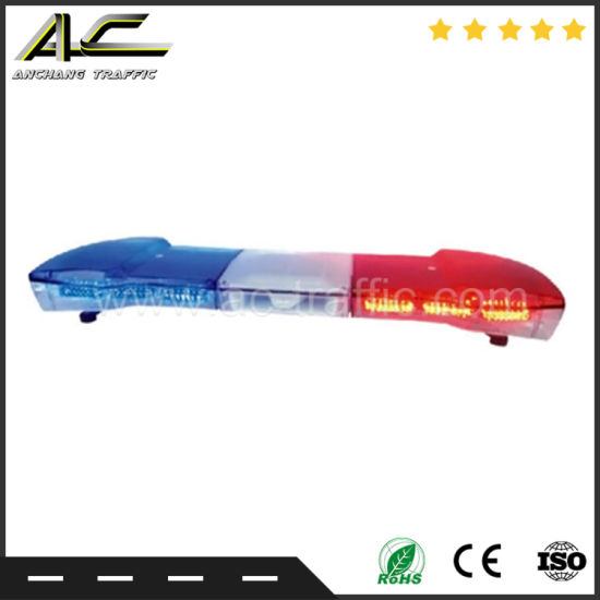 Wholesale Caution Traffic Light Bar With Blue Red White Lighting