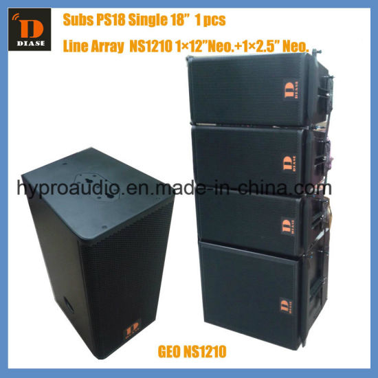Ns12 12inch Super Power Line Array System Passive Active Are Optional