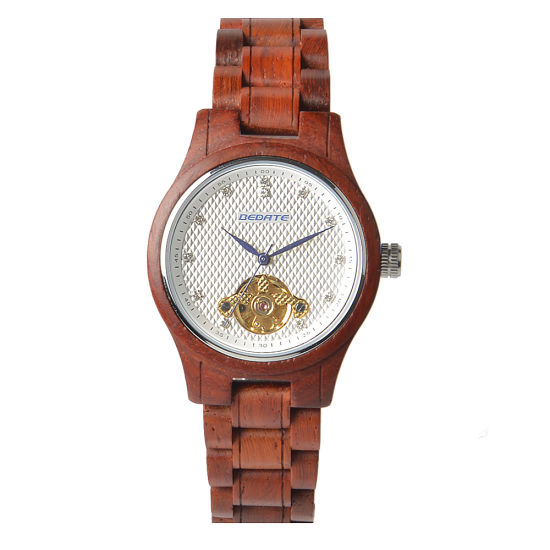 Promotion Gift Fashion Watches Made of Rose Wood pictures & photos