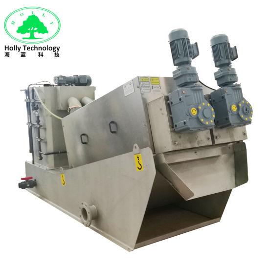 Waste Water Treatment Industrial Equipment Screw Oil Press Machine