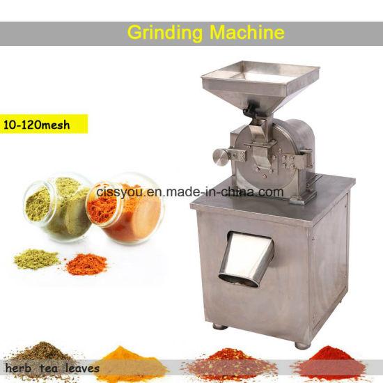 Stainless Steel Grain Pepper Spice Salt Grinder Mill Pulverizer Machine