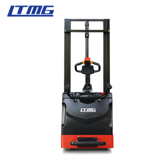 Ltmg 1400kg 1500kg 2000kg 1.4ton 1.5ton 2ton Electric Stacker with Lithium Battery and Optional Lifting Height