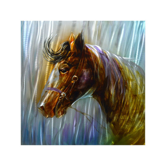2017 New Design Horse Painting for Metal Wall Arts pictures & photos
