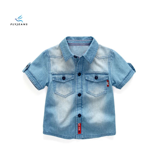 05f9c474b6f5 China Fashion Classic Long Sleeve Denim Shirt for Girls by Fly Jeans ...