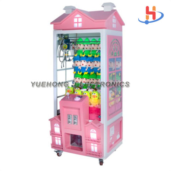 Newest Toy Gift Game Crane LED Screen Claw Coin Game Machine for Game Center