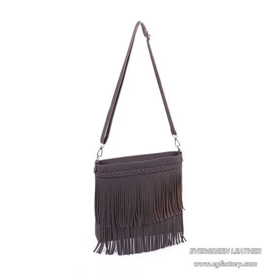 84e78eaf7fae China Factory Wholesale Price Women Velvet Tassel Crossbody Bags Sh786