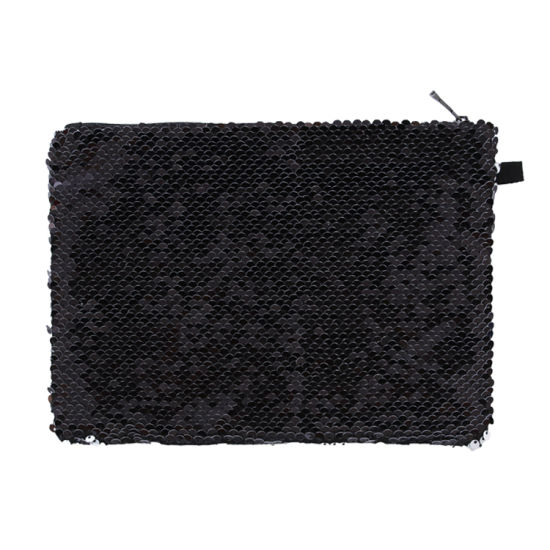 High Quality Sequin Cosmetic Bag Sequin Sublimation Bag for Kids