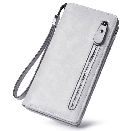 Woman Carteras PU Leather Lady Purse Wallets High Quality Trendy Wallet Pouch Mobile Phone Ladies Purse