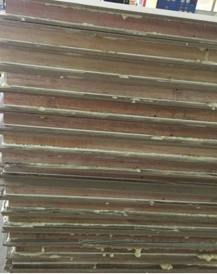 China Factory Galvanized Steel Sandwich Panel Board Fast Bonding Laminate  One Component Odourless Glue