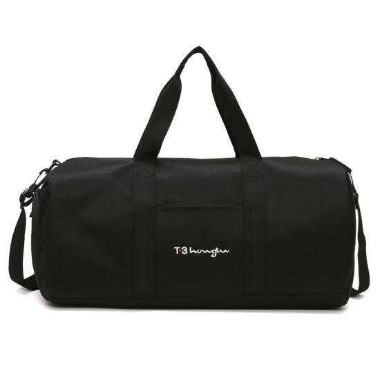 Dry and Wet Separation Sports Fitness Bag Shoulder Bag Men's Travel Bag with Shoe Compartment for Wholesale OEM ODM