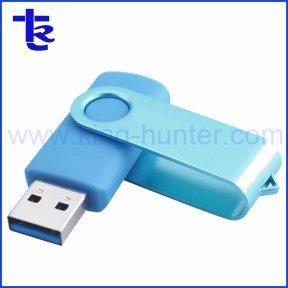 Portable Plastic Swivel USB Memory Stick for Promotion Gift