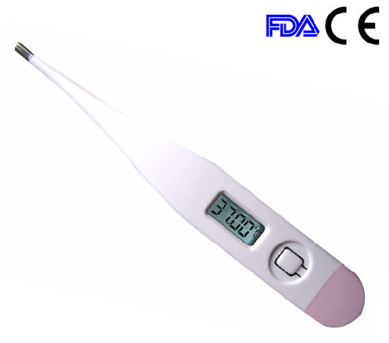 Basal Type Digital LCD Thermometer for Women Use
