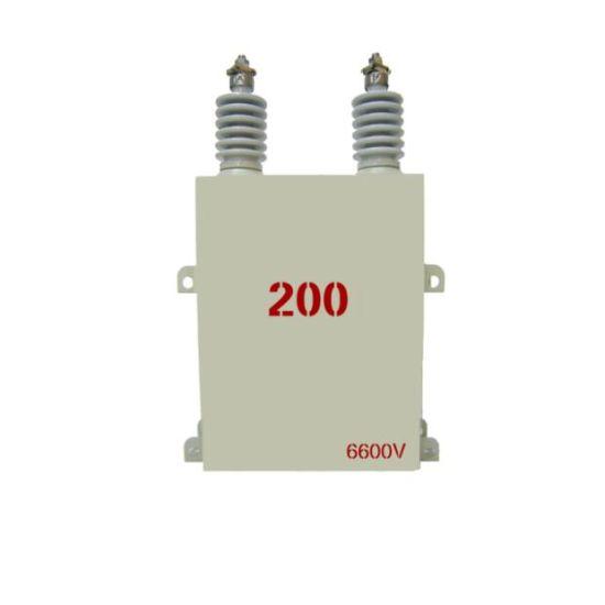 China Bam 6 6kv Medium Voltage Capacitor Bank Polypropylene Film for
