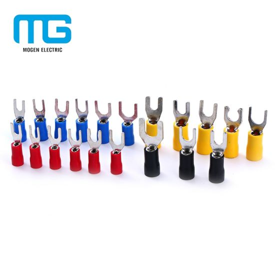 2019 Morgan Hot Selling Sv 5-6 Insulated Tin Plated Copper Full Wire Range Cable Wire Terminal Connectors
