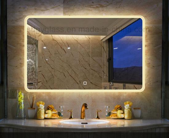 Smart Bathroom Mirror With Led Light