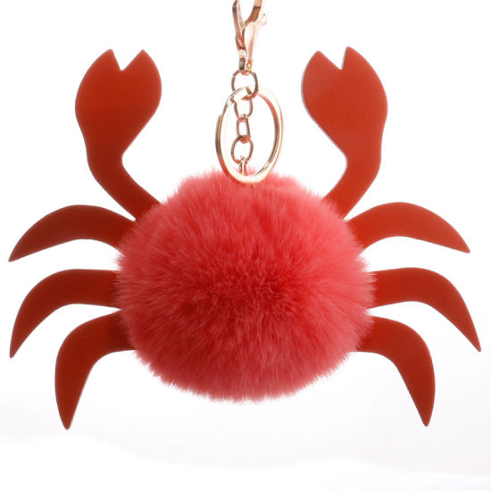 Ball Crab Kawaii Plush Baby Keychain For Children Soft Gift pictures & photos